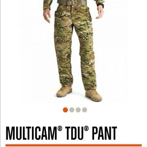 NWT. 5.11 TDU Tactical Series Pant-Multicam print